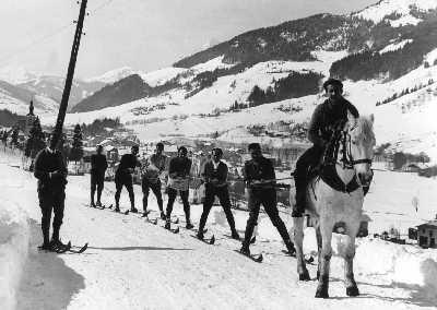 history skiing france