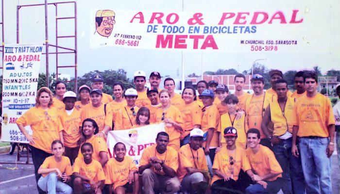Equipo de trabajo 8vo Triatlón Aro & Pedal