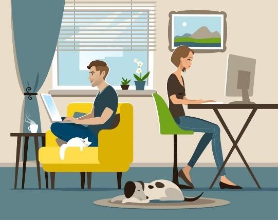 You are currently viewing Télétravail, quelques conseils pour préserver le bien-être de vos collaborateurs !