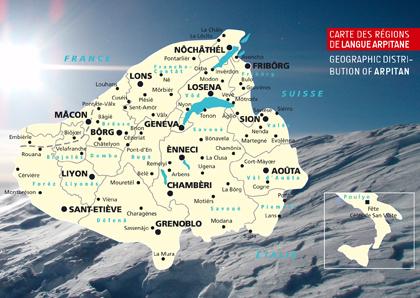 Mapa d'Arpitània