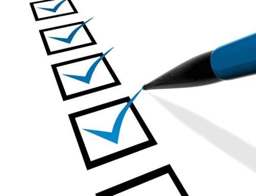 Checklist de pré-livraison ou livraison