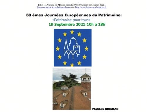 Journées du patrimoine au PMB