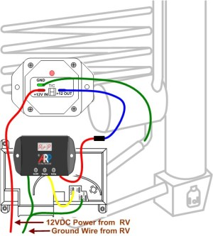Norcold 1200 Wiring | Norcold Fans | Wire ARPrv Control | Norcold High Temp Kit