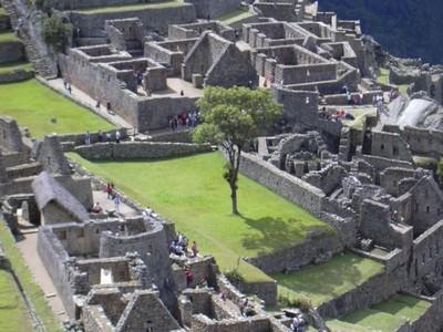 Machu Picchu 100 años: Las plazas