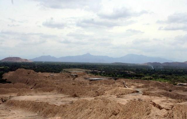 Descubren pirámides de 1.375 años antigüedad en Luya, Lambayeque, Perú
