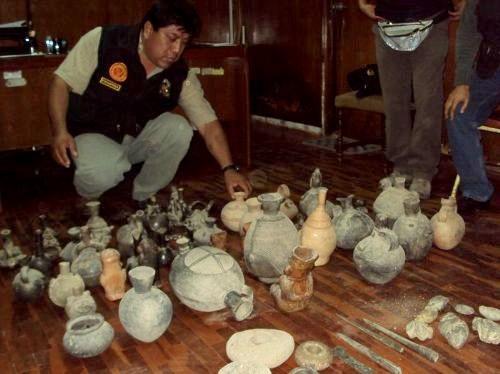 800 piezas arqueológicas originales son recuperadas en región Lambayeque