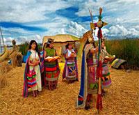 Manco Cápac y su séquito - Municipalidad Provincial de Puno