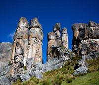 Bosque de Piedras de Huayllay - César Vega, PromPerú