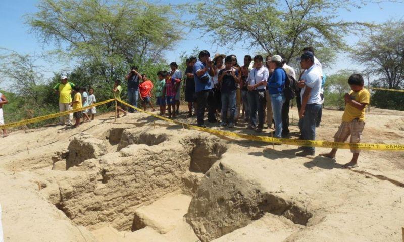 Presentan nuevos hallazgos de cultura Tallán en Huaca Chaquira