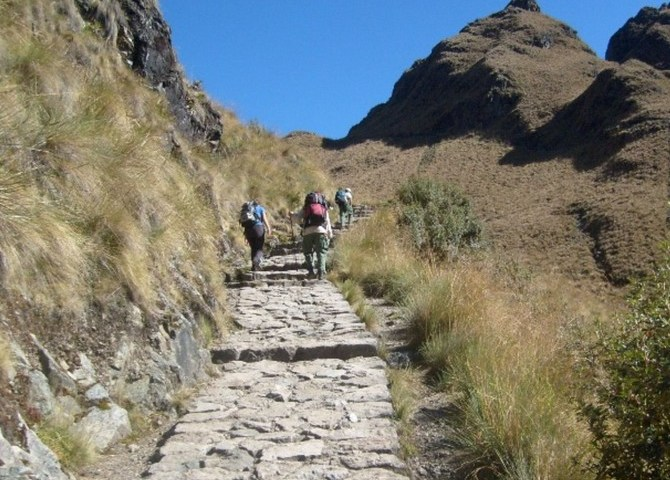 Nearly 175,000 tourists got to Machu Picchu through Inca Trail in 2014