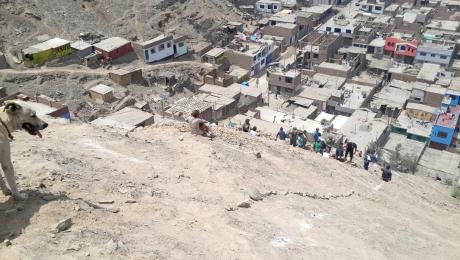 Ministerio de Cultura del Perú frustra invasión en zona arqueológica Huaycán de Pariachi