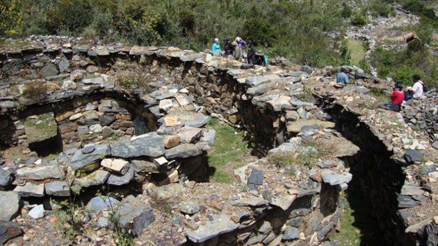 Llama Corral, un enigmático sitio arqueológico en Ancash
