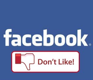 "Facebook: ""No me Gusta"", ""Don't Like"""