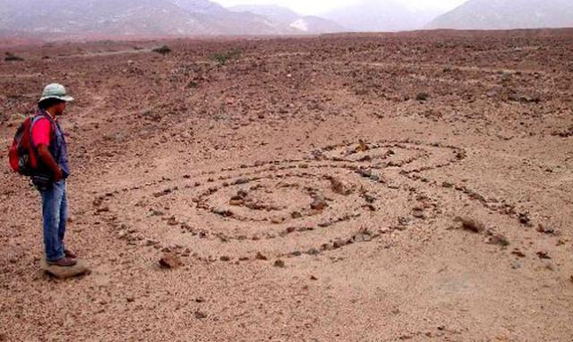 Destruyen geoglifo de quebrada Santo Domingo en La Libertad, Perú