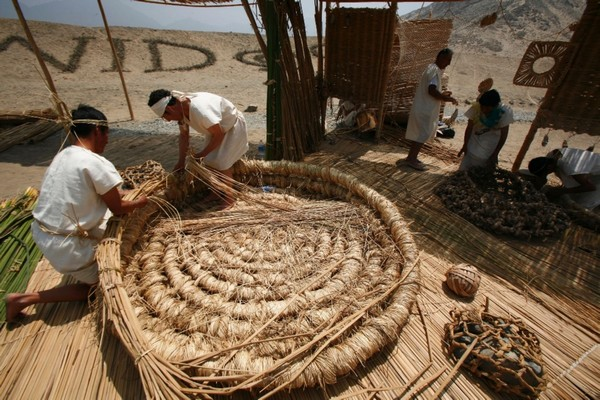 Declaran Patrimonio Cultural de la Nación a la cestería en junco y totora