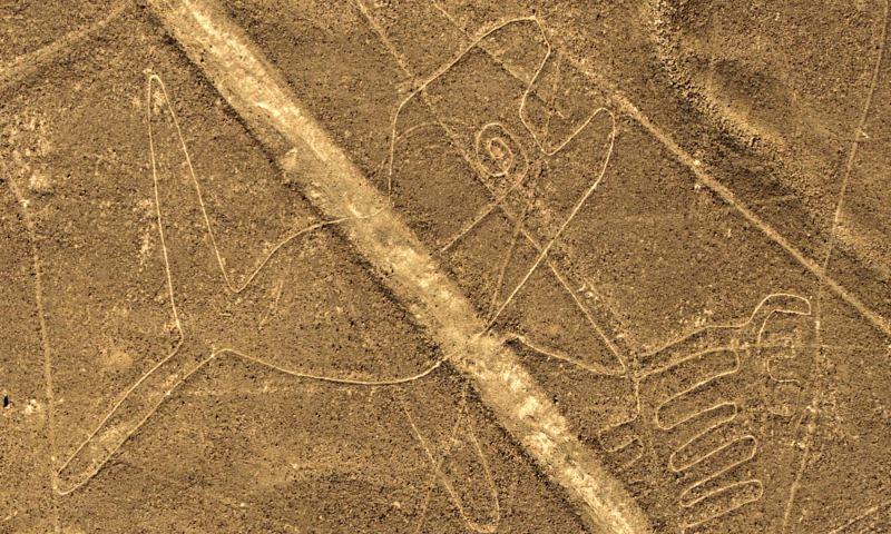 Afirman que líneas de Nasca podrían haber sido rutas de peregrinación a un templo