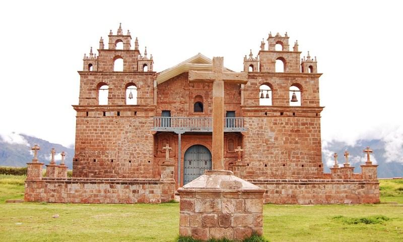 Reinician intervención al santuario de Tiobamba en el distrito de Maras, Cusco
