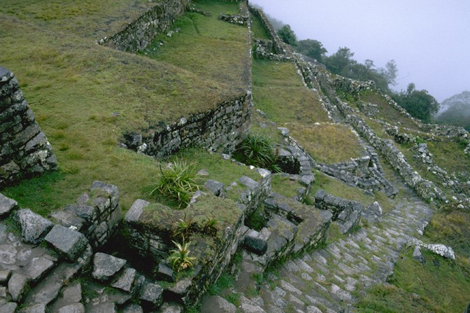 Machu Picchu's Stairway of Fountains