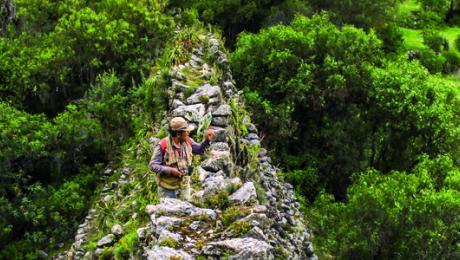 Identifican y registran nuevos tramos de camino y sitios Inca en Apurímac