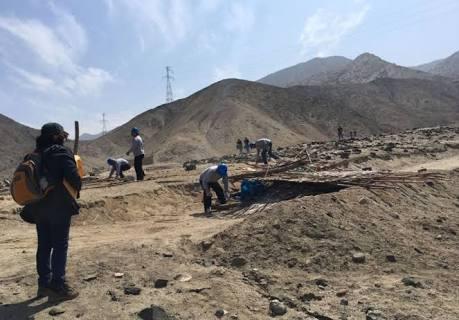 Recuperan sitio arqueológico Monte Grande de Paramonga