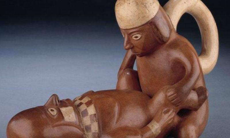 El explícito arte erótico de los moche