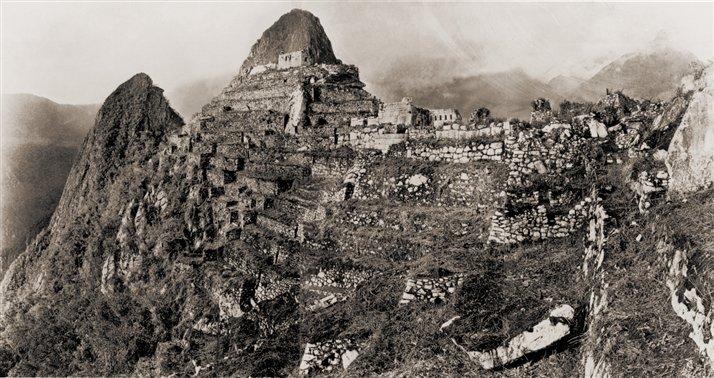 Imágenes históricas del hallazgo de Machu Picchu