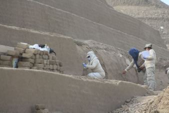 Third stairway found at Chan Chan's Huaca Toledo