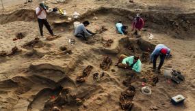 Las excavaciones en Pampa La Cruz se iniciaron el año pasado y fueron financiadas por la National Geographic Society. (Foto: National Geographic)