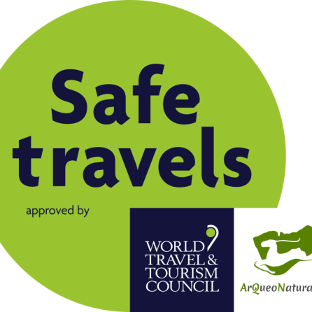 We are COVID-19 WTTC's Protocols Compliant #SafeTravels