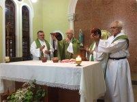 Celebração com Dom José Antonio