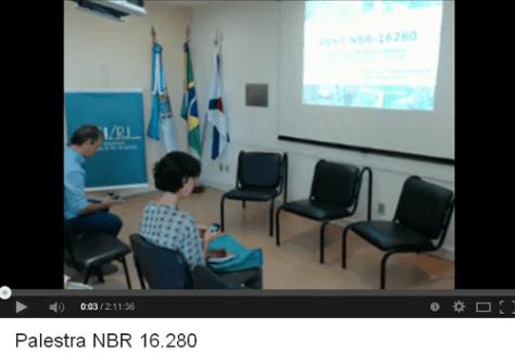 CAU RJ :: Palestra NBR 16.280