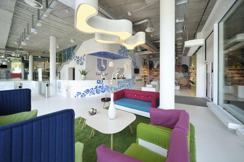 Unilever Office - Camenzind Evolution