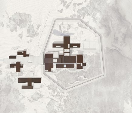 Ny Anstalt Correctional Facility Winning Proposal - Schmidt Hammer Lassen Architects