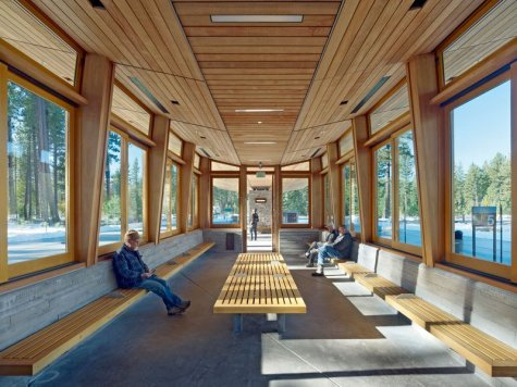 Tahoe City Transit Center - WRNS Studio