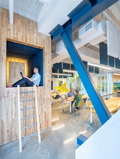 The Capital One Lab - Studio O+A