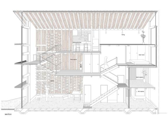 House for Pottery Festival - Office for Environment Architecture