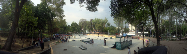 Parque Lira, skatepark by Anonima