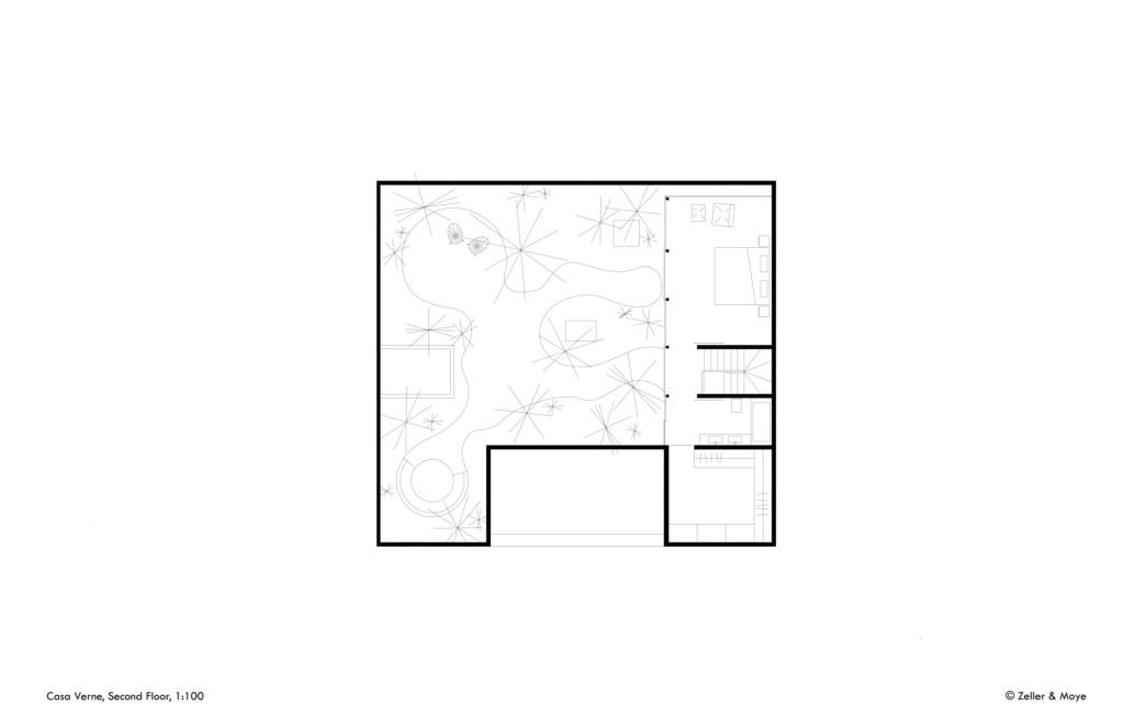 Casa Verne_Zeller & Moye_Second Floor_©Zeller & Moye