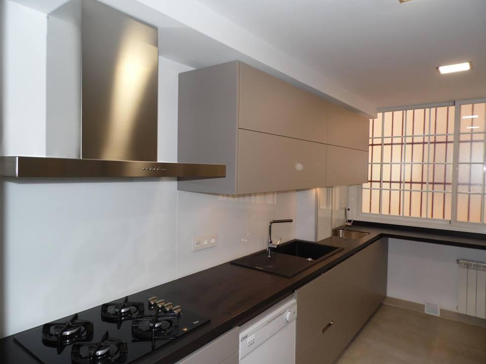 Reformas en granada cocinas - Cocinas pintadas sin azulejos ...