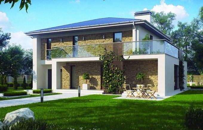 Construir en una o dos plantas - Casas de dos plantas sencillas ...