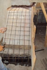 escalera de hormigón armado