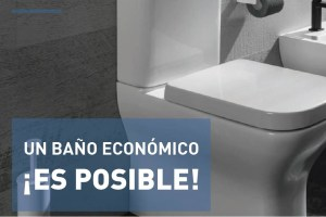 baño económico