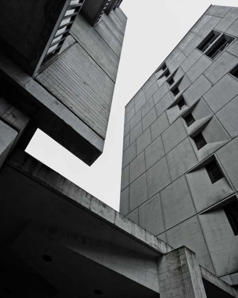 arquitectura Marcel Breuer Flaine fotografías Valentin Jeck exterior apartamentos hormigon