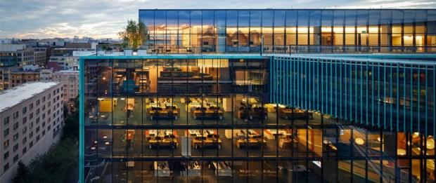 arquitectura, arquitecto, diseño, design, EEUU, Estados Unidos, SHoP Architects, Washington DC, oficinas, espacios de trabajo, paisajismo
