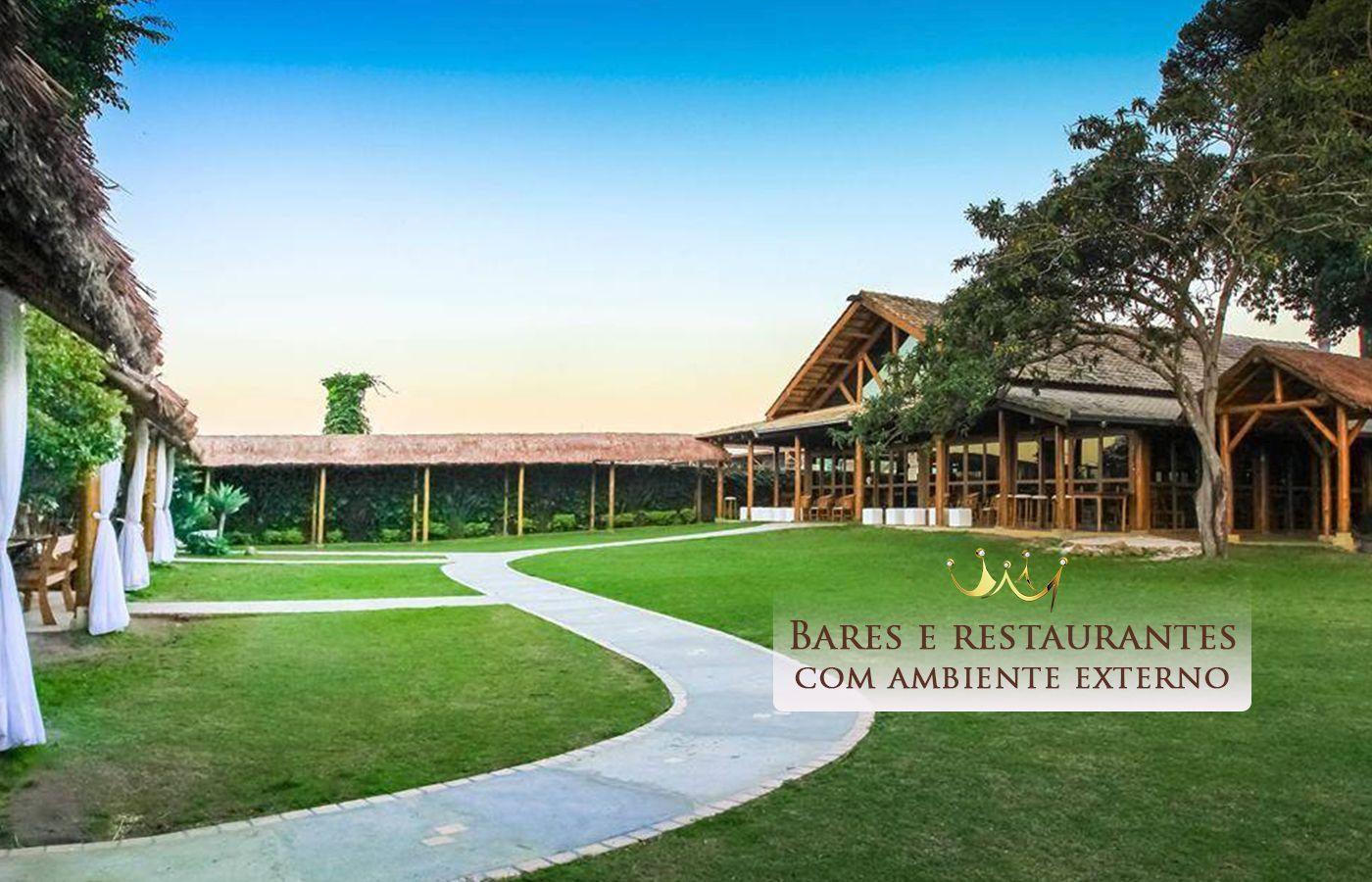 Bares e Restaurantes com ambiente externo em Curitiba