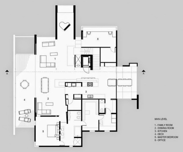plano-H-House / Axis Architects, Utah