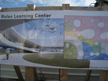 Sanaa Rolex Learning Center