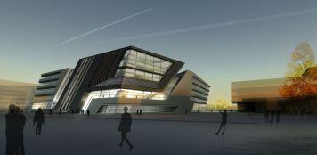 Biblioteca y Centro de Aprendizaje - Zaha Hadid
