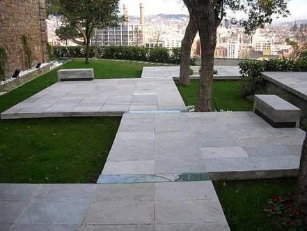 Pabellón y Jardín en Montjuic - fondaRIUS arquitecture