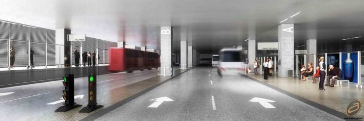 Estación de Transferencia Multimodal Azteca - CC Arquitectos